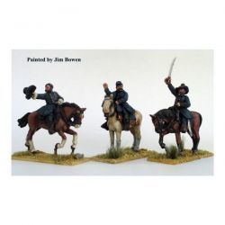 Union Generals mounted