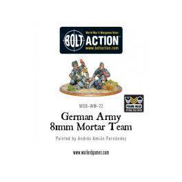 German Army 81mm Mortar Team