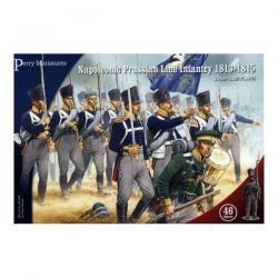 Napoleonic Prussian Line Infantry 1813-1815