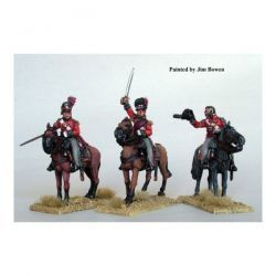 Mounted British Colonels