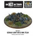 German Army MG42 HMG Team
