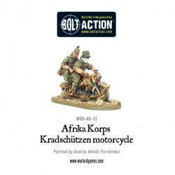 Afrika Korps Kradschutzen motorcycle
