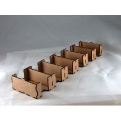 Card Holder 44x68, 6 Spaces