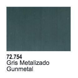 GUNMETAL METAL - 17 ML.