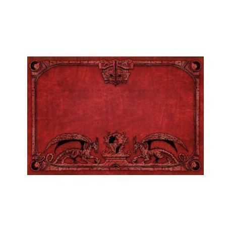 Dragon Shield Play Mat - Red