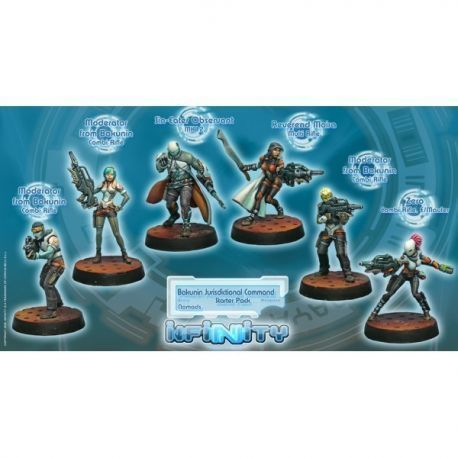 Bakunin Jurisdictional Force (Nomads Sectorial Starter Pack)