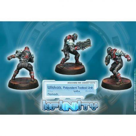 Wildcats, Polyvalent Tactical Unit (Spitfire)