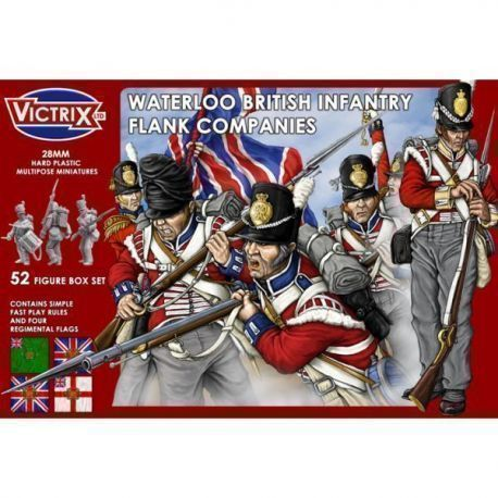 Waterloo British Infantry Flank Companies