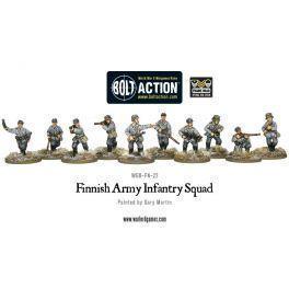 Finnish Army Infantry squad