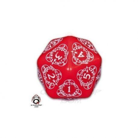 d20 Red & white Card Game Level Counter (1)