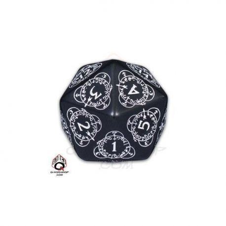 d20 Black & white Card Game Level Counter  (1)