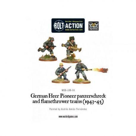 German Heer Pioneer, Panzerschrek/Flame