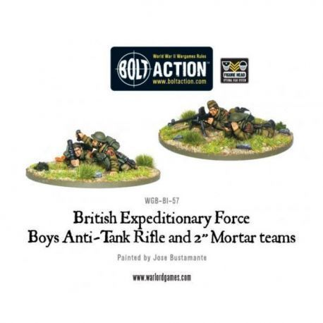 Early War British Anti-Tank Rifle Team