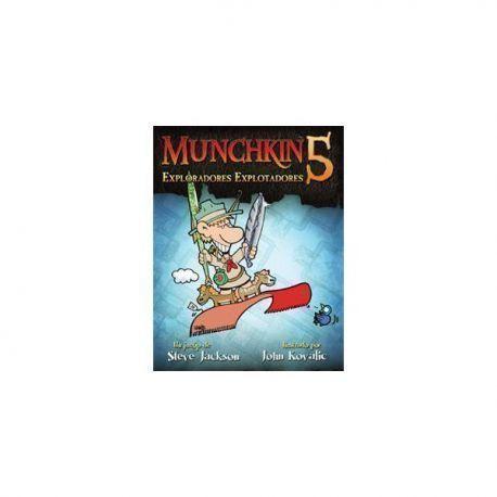MUNCHKIN5: EXPLORADORES EXPLOTADORES - JCNC