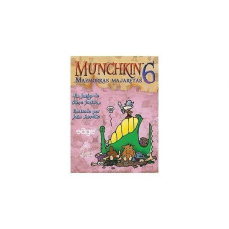MUNCHKIN6: MAZMORRAS MAJARETAS - JCNC