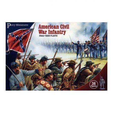 American Civil War Infantry (36 Plastic Figures)