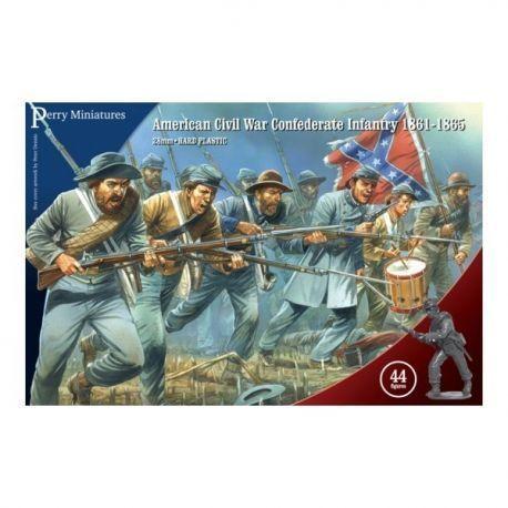 American Civil War Confederate Infantry 1861-65