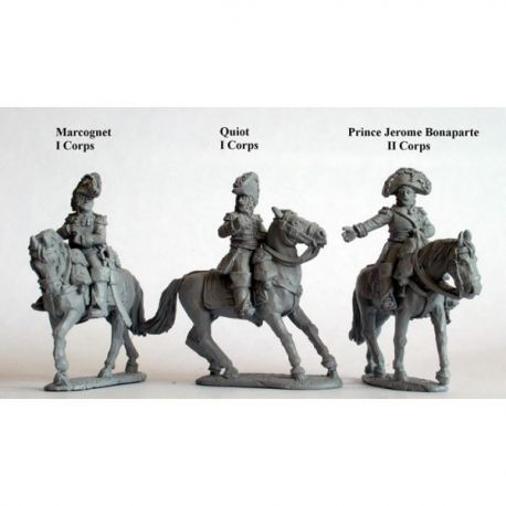 Mounted Generals of Division and Brigade