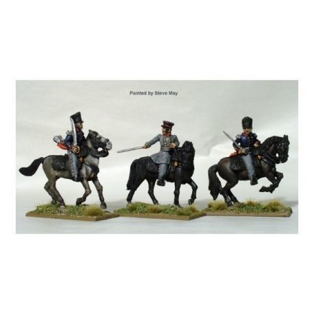 Mounted field officers