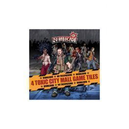 ZOMBICIDE: TOXIC CITY MALL GAME TILES