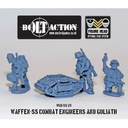 Waffen SS Combat Engineers and Goliath