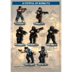 Kung Fu Squad: The Cops