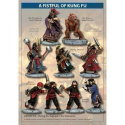Kung Fu Squad: The Demons