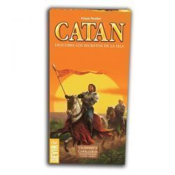 CATAN – CIUDADES Y CAB. DE CATAN EXP. 5-6 JUG.