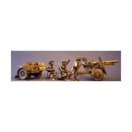 British 25pdr Field Gun and Crew.