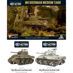 M4 Sherman (75) plastic boxed set
