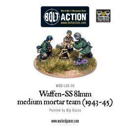 Waffen-SS 81mm medium mortar team (1943-45)