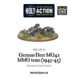 German Heer MG42 MMG Team