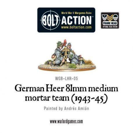 German Heer 81mm Medium Mortar