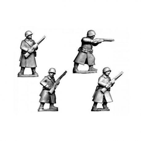 Russian Infantry in Greatcoats II
