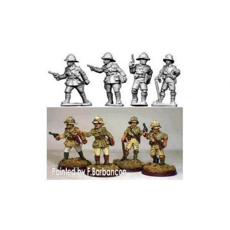 British Officers