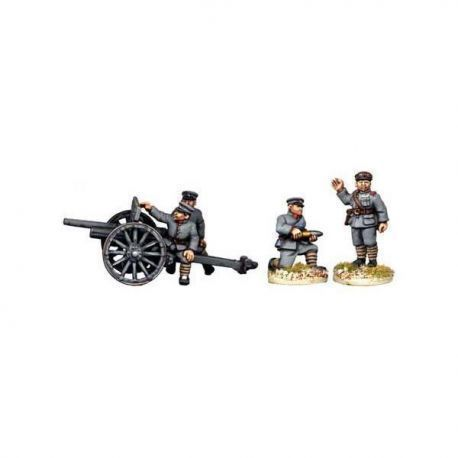 Chinese Field Gun and Crew