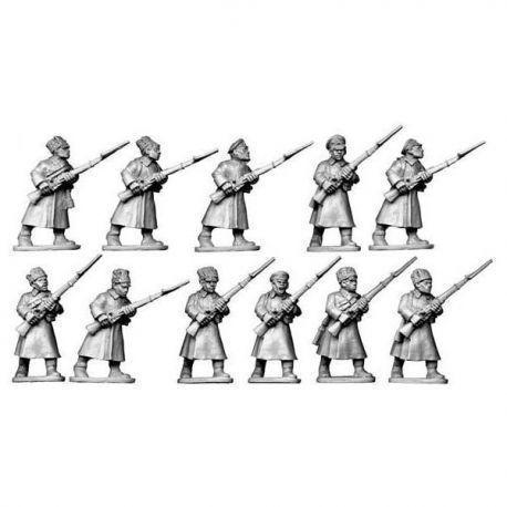 Bolshevik Infantry in Greatcoats