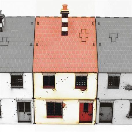 Mid Terrace Type 1 (Edificio Prepintado)