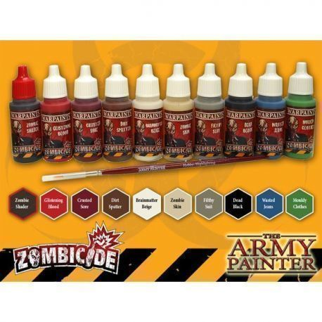 Zombicide: Zombie Core Paint Set