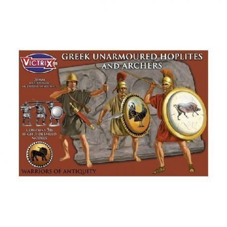 Greek Unarmoured Hoplites and Archers