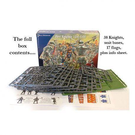 Plastic Foot Knights 1450-1500.