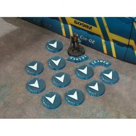 Pack tokens ordes regulares Azul