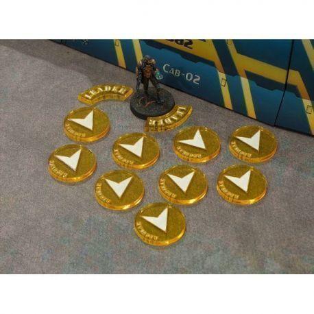 Pack tokens ordes regulares Amarillo