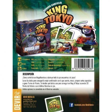 King of Tokyo: Power Up.