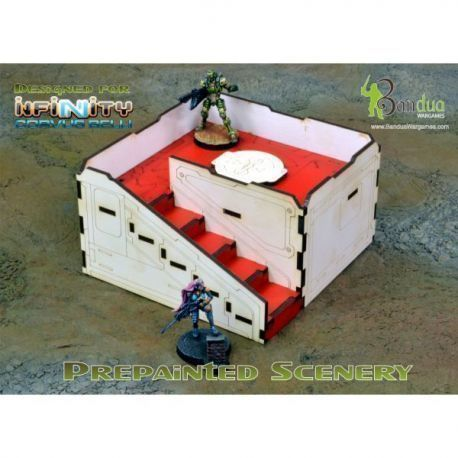 Prepainted Q-Building Pack (White & Red)