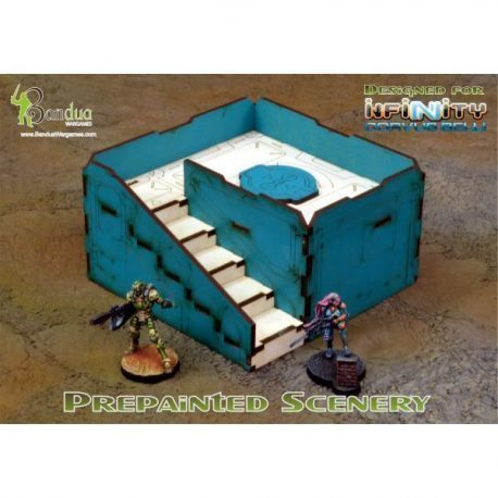 Prepainted Q-Building Pack (Turquoise & White)