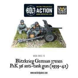 Blitzkrieg German 37mm Pak 36 Anti-tank Gun (1939-42)