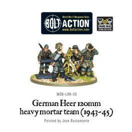 German Heer 120mm Hvy Mortar