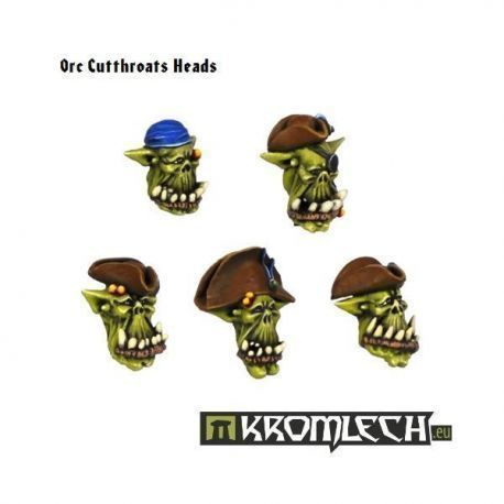 Orc Cutthroats Heads (5)