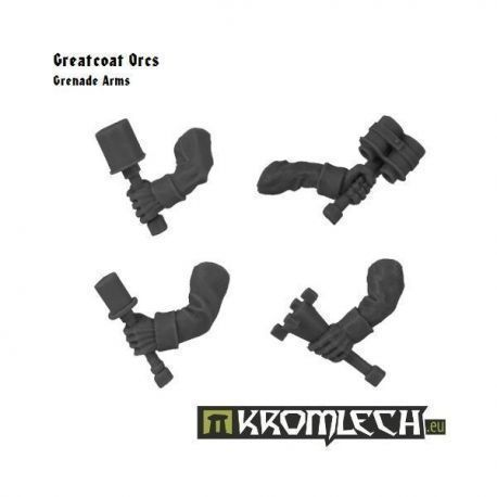 Greatcoats Grenade Arms (5)